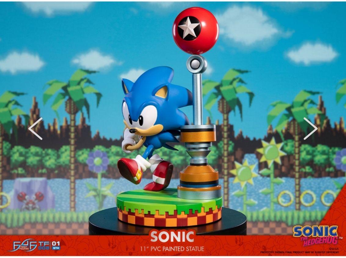 Figurine Abyss Sonic the Hedgehog - 28cm (Via 50€ sur Carte Fidélité)