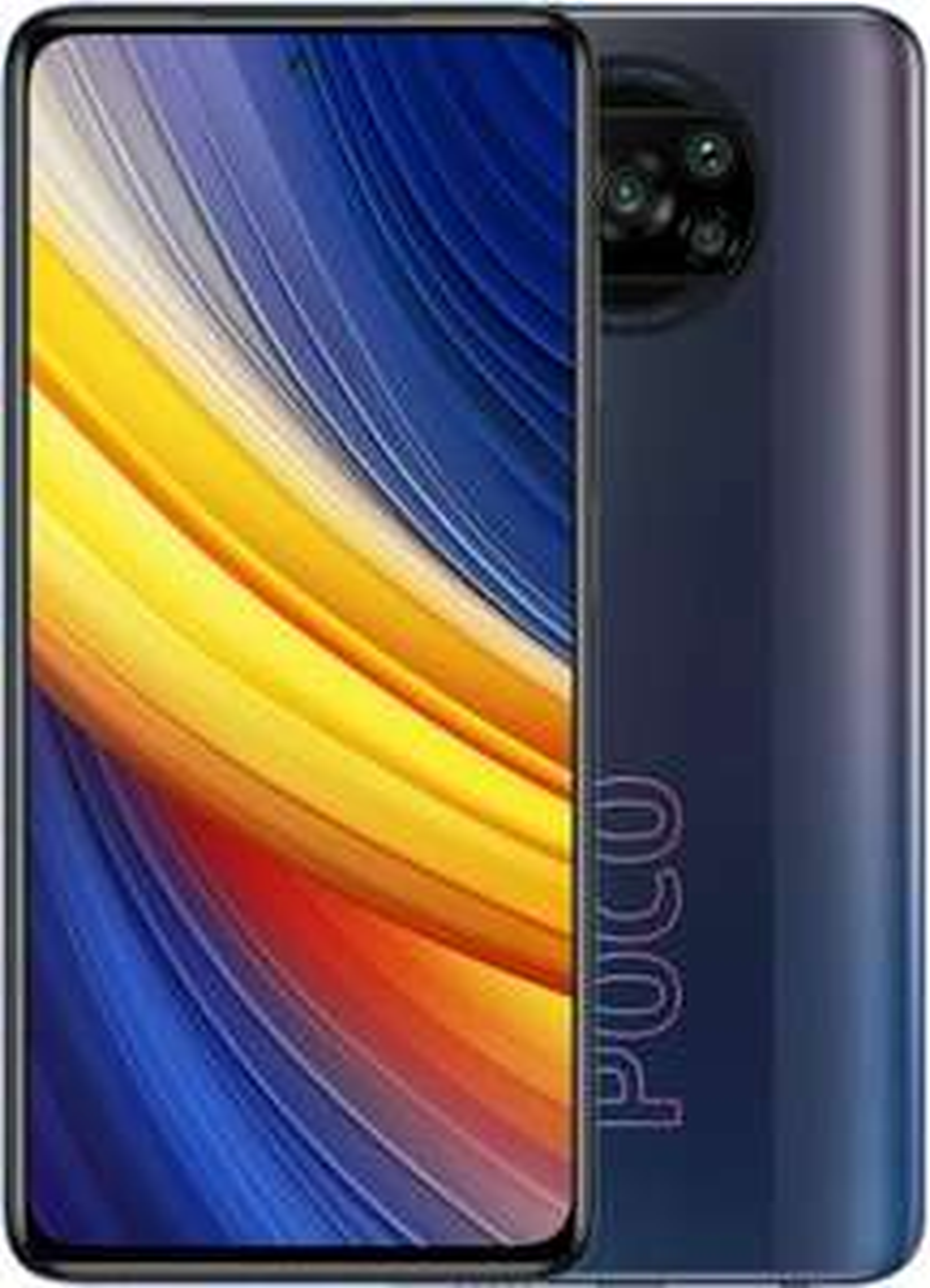 "Smartphone 6.67"" Xiaomi Poco X3 Pro - full HD+ 120 Hz, 6 Go de RAM, 128 Go, Noir Fantôme"