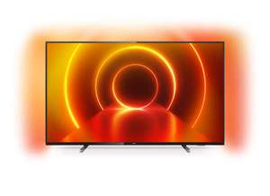 """TV 55"""" Philips 55PUS7805 - 4K, LED IPS, HDR10+, Dolby Vision & Atmos, Ambilight 3 côtés, P5, Smart TV"""