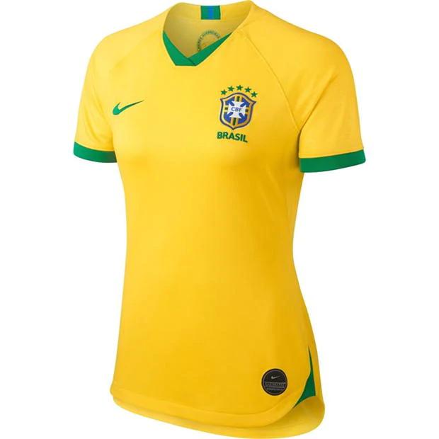 Sélection de produits en promotion - Ex: Maillot Femme Nike Brazil Home Jersey 2019 - Tailles S, M ou L