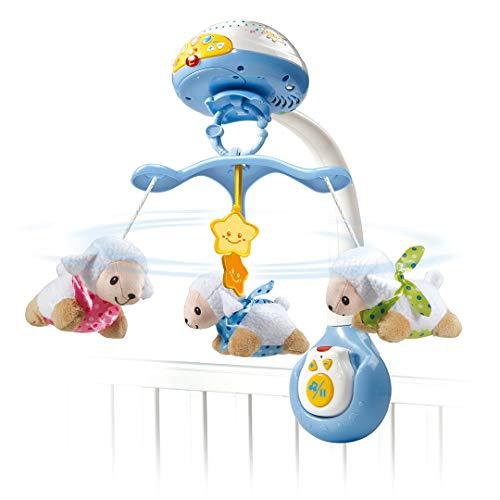 Jouet bébé VTech Baby Lumi Mobile Compte-Moutons - Bleu (via ODR 8€)