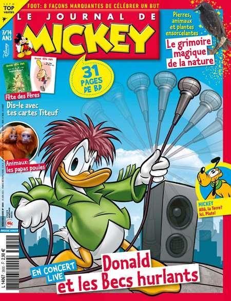 22€ de remise dès 40€ d'achat - Ex : Abonnement de 7 Mois Le Journal de Mickey (30 numéros)