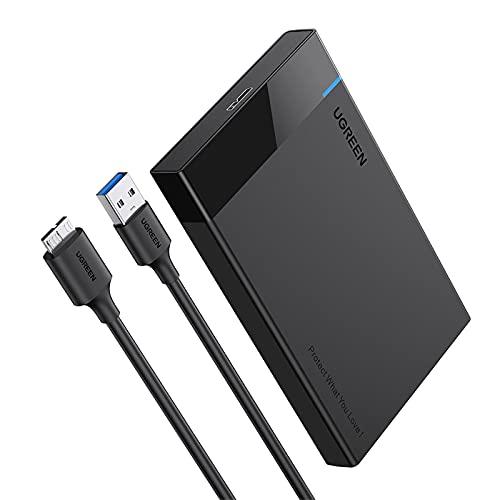 """Boîtier externe pour disque dur 2,5"""" Ugreen - USB 3.0, SATA (vendeur tiers)"""