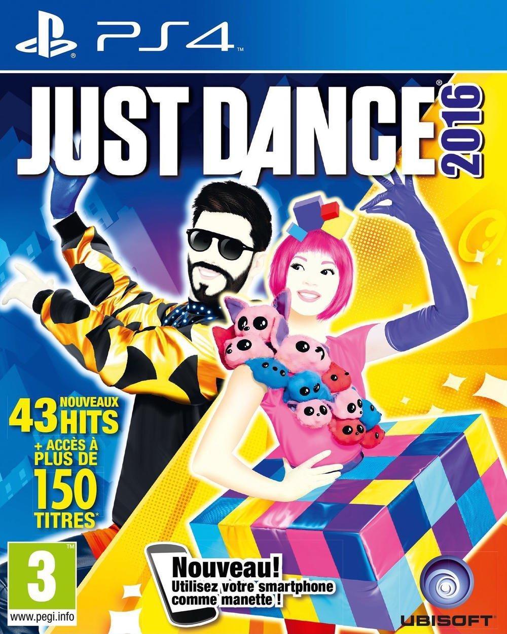 Just Dance 2016 sur Ps4, , Wii U, Xbox 360,Wii, XboxOne ou Ps3