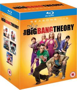Coffret Blu-ray The Big Bang Theory Intégrale des Saisons 1 à 5