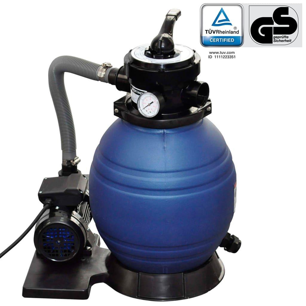 Filtre à sable VidaXL 11000l/h