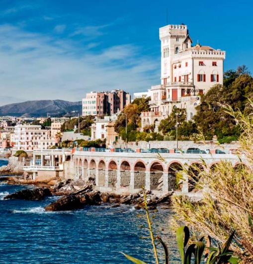 Une nuit à Gênes dans un hôtel participant = Une nuit gratuite et un city pass au choix (visitgenoa.it)