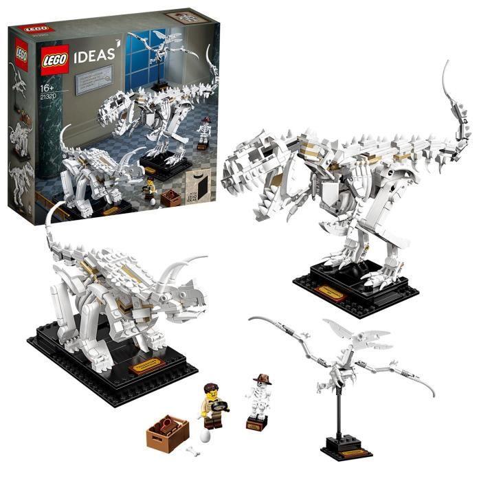 Jouet Lego Ideas - Les fossiles de dinosaures (21320)