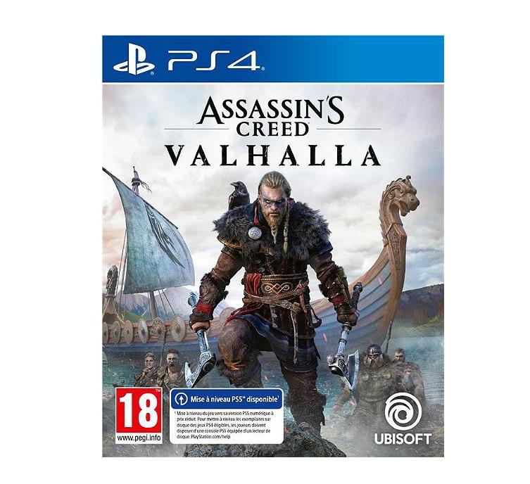 Assassin's Creed Valhalla sur PS4 et Xbox