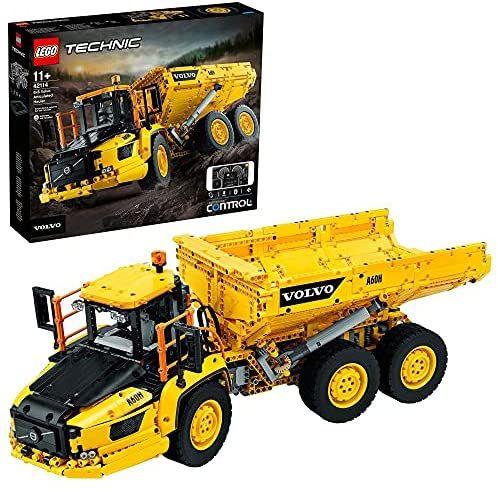 Jouet Lego Technic : Le tombereau articulé Volvo 6x6 (42114)