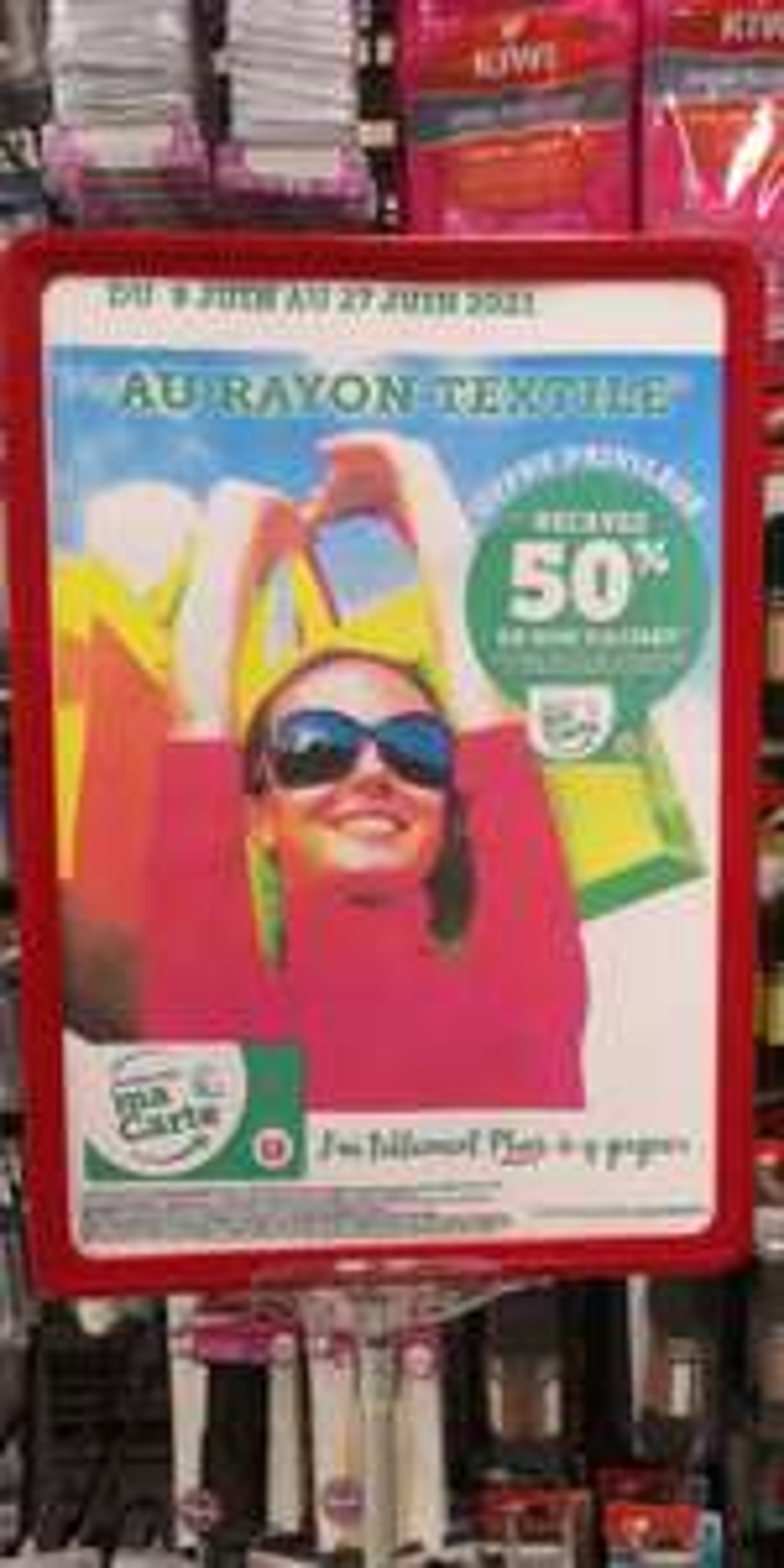 [Carte fidélité] 50% en bon d'achat sur le rayon Textile (hors exceptions) - Super U Rodez (12)