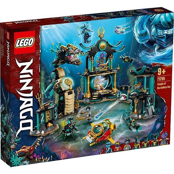 Jeu de construction Lego Ninjago 71755 - Le temple de la Mer sans fin