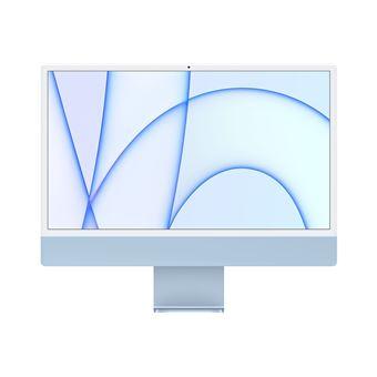 """Ordinateur tout-en-un 24"""" Apple iMac (2021) - M1, 8 Go de RAM, 256 Go en SSD, 2 USB (+140€ sur compte de fidélité pour les adhérents)"""