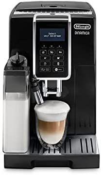 Machine à expresso avec broyeur de grains et carafe De'Longhi Dinamica ECAM 350.55.B