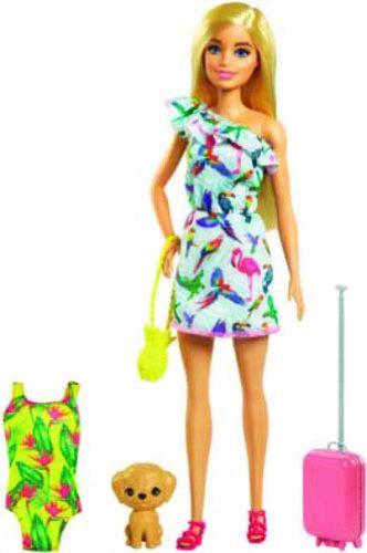 Poupée Barbie et son chiot
