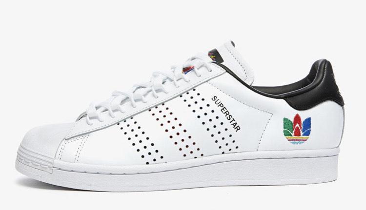 Sneakers Adidas Superstar - Blanc ou Noir, Diverses tailles