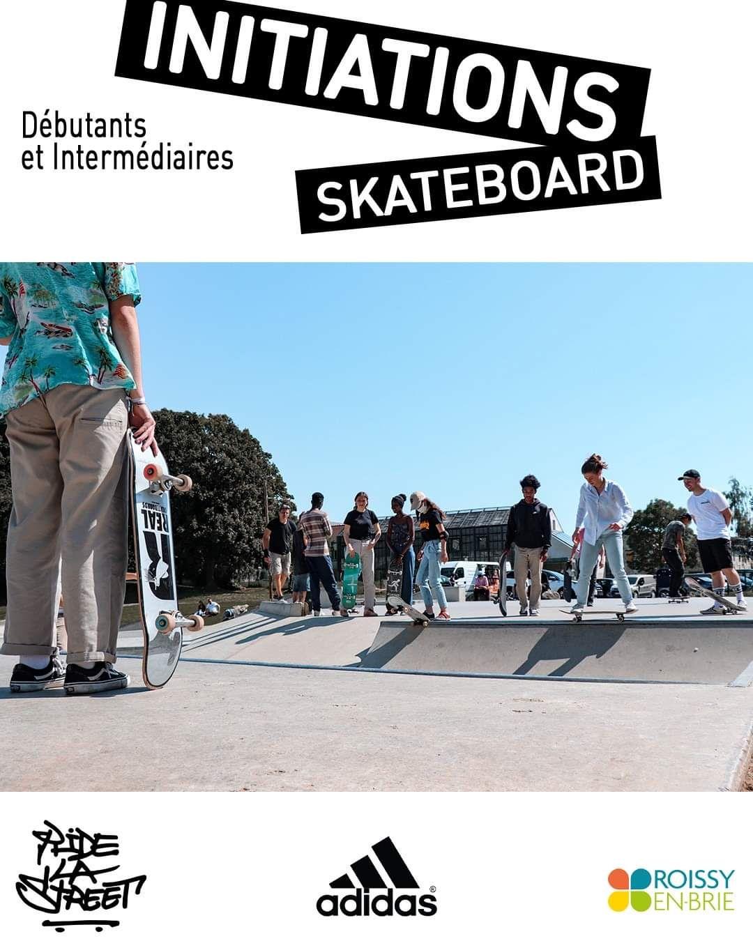 Initiation de Skateboard 1h gratuite - Roissy en Brie (77)