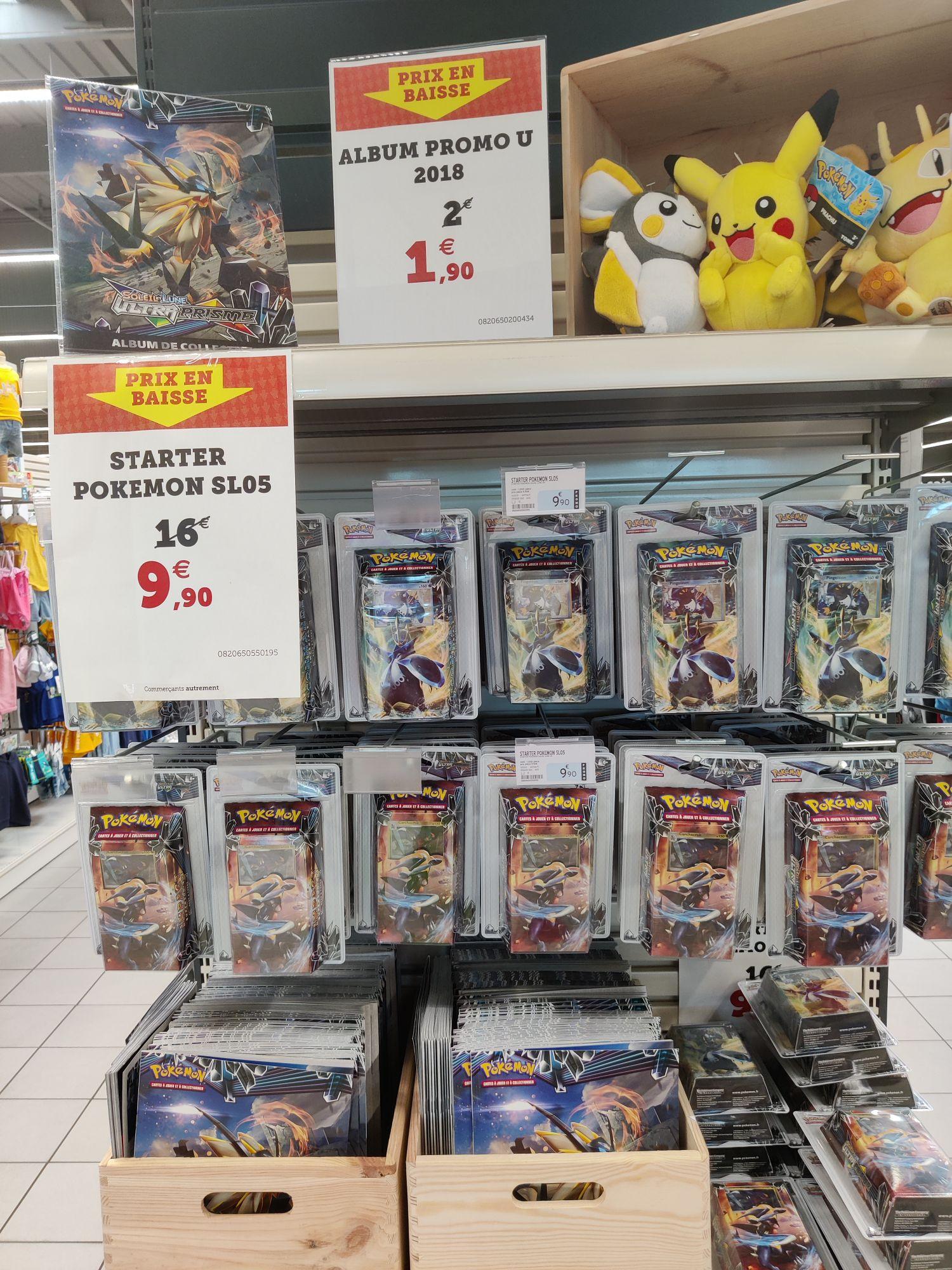 Pack Cartes Pokemon Soleil et Lune Ultra Prisme SL05 - Saint-Sylvain-d'Anjou (49)