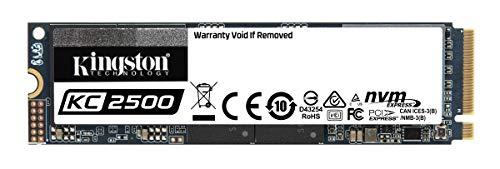 SSD NVMe Interne M.2 Kingston KC2500 (TLC, 3D DRAM) - 1 To