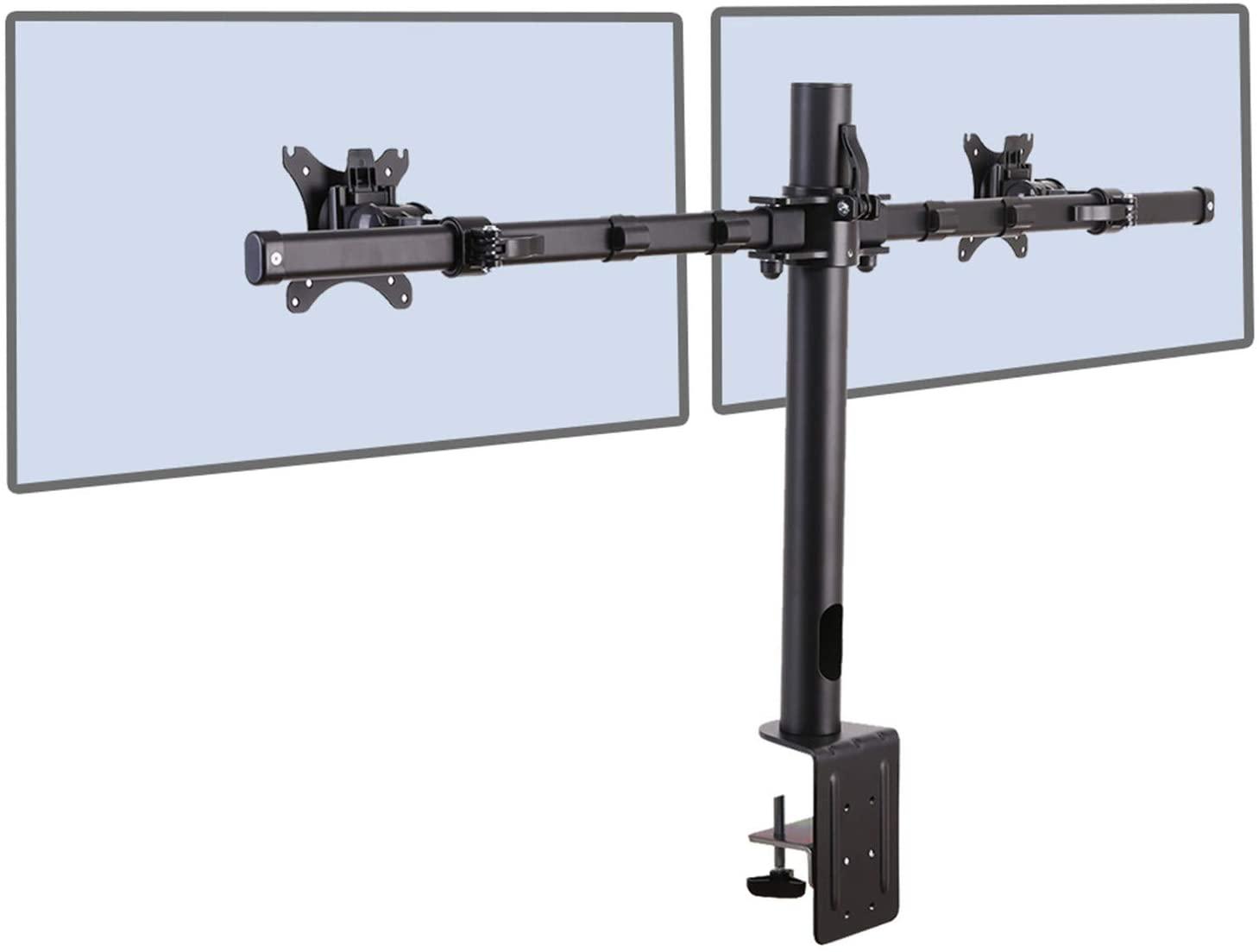 """Support double-écran Fleximounts D1DP - 17"""" à 36"""" (vendeur tiers)"""
