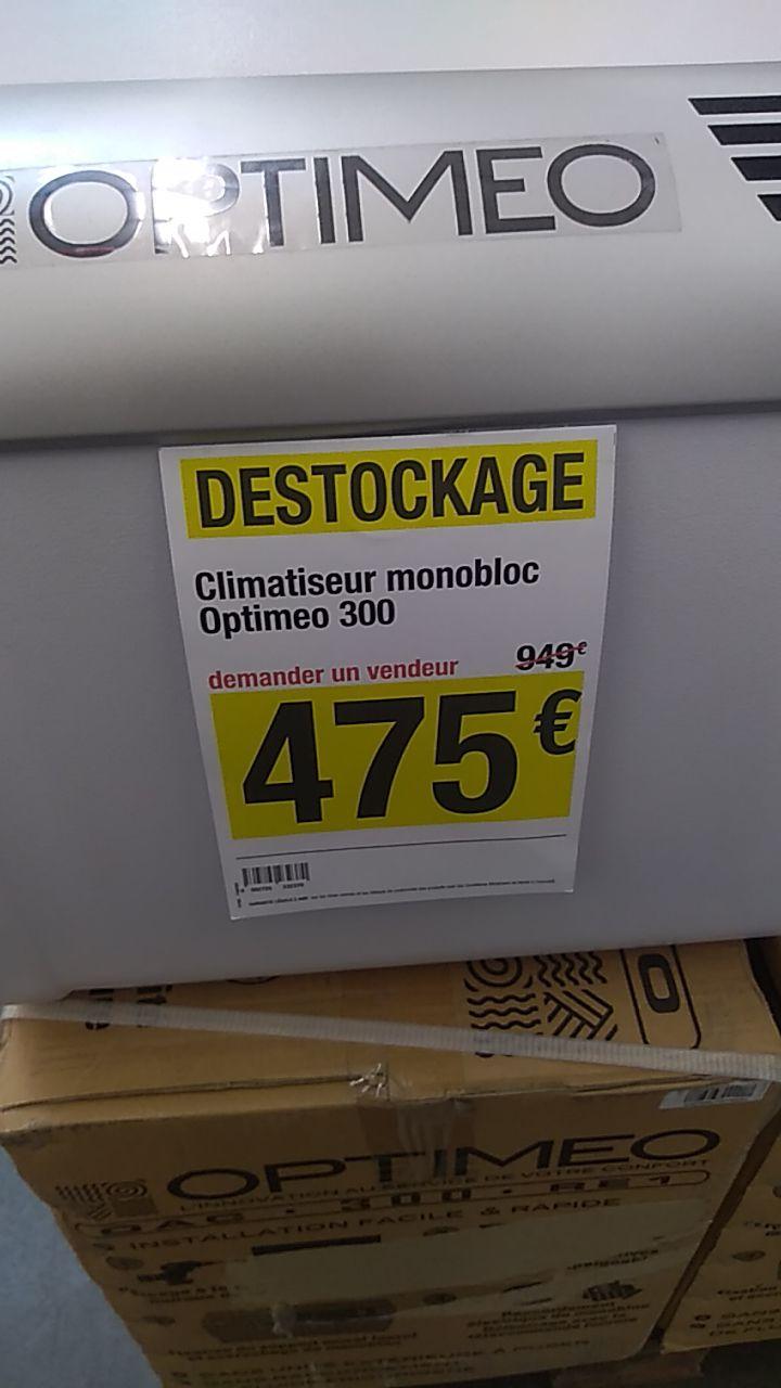 Climatiseur monobloc Optimeo 300 - Saint-Cyr-sur-Loire (37)