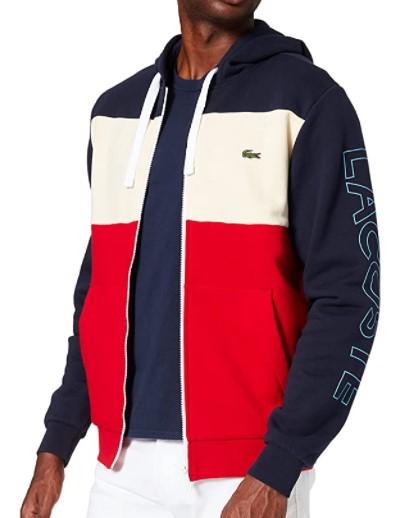 Sweat-shirt à capuche Lacoste Sweater pour Homme - Diverses tailles