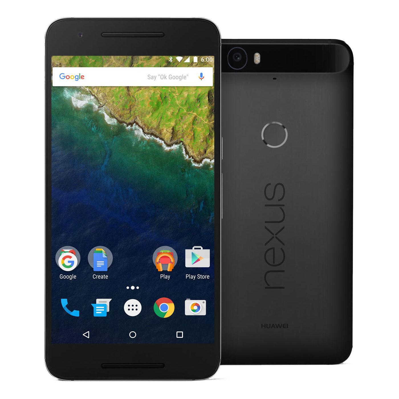 """Sélection de smartphones Google Nexus en promotion - Ex : smartphone 5.7"""" Huawei Nexus 6P - 64 Go"""