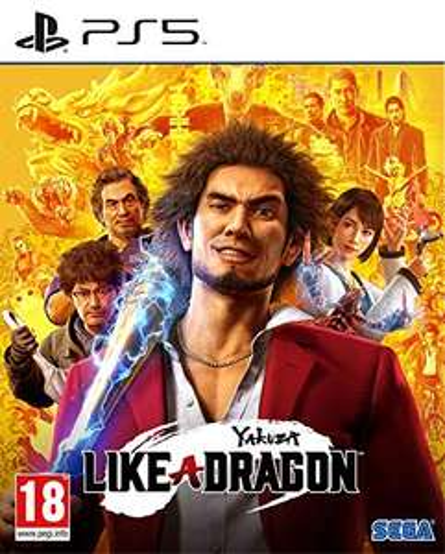 Jeu Yakuza Like A Dragon sur PS5