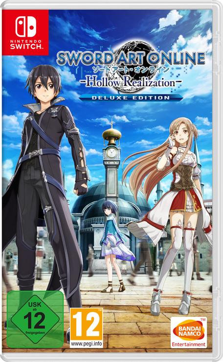 Jeu Sword art online: Hollow Realization sur Nintendo Switch - Deluxe Edition (Dématérialisé)