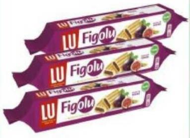 Lot de 3 paquets de gâteaux Figolu de LU