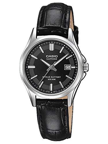 Montre femme Casio Collection LTS-100L-1AVEF - Verre saphir, 5 atm, 29 mm