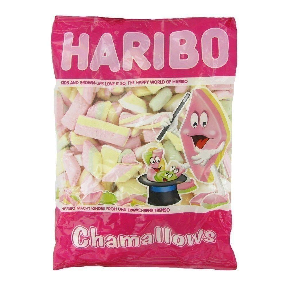 Paquet de bonbons Haribo Chamallows Supermix Mélange (1kg) - hommeprive.com