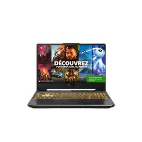 """[Adhérents] PC portable 15.6"""" Asus F15-TUF506HE-HN006T - Intel Core i7 11800H, 16 Go RAM, SSD 512 Go, RTX 3050 Ti (+ 110€ en fidélité)"""