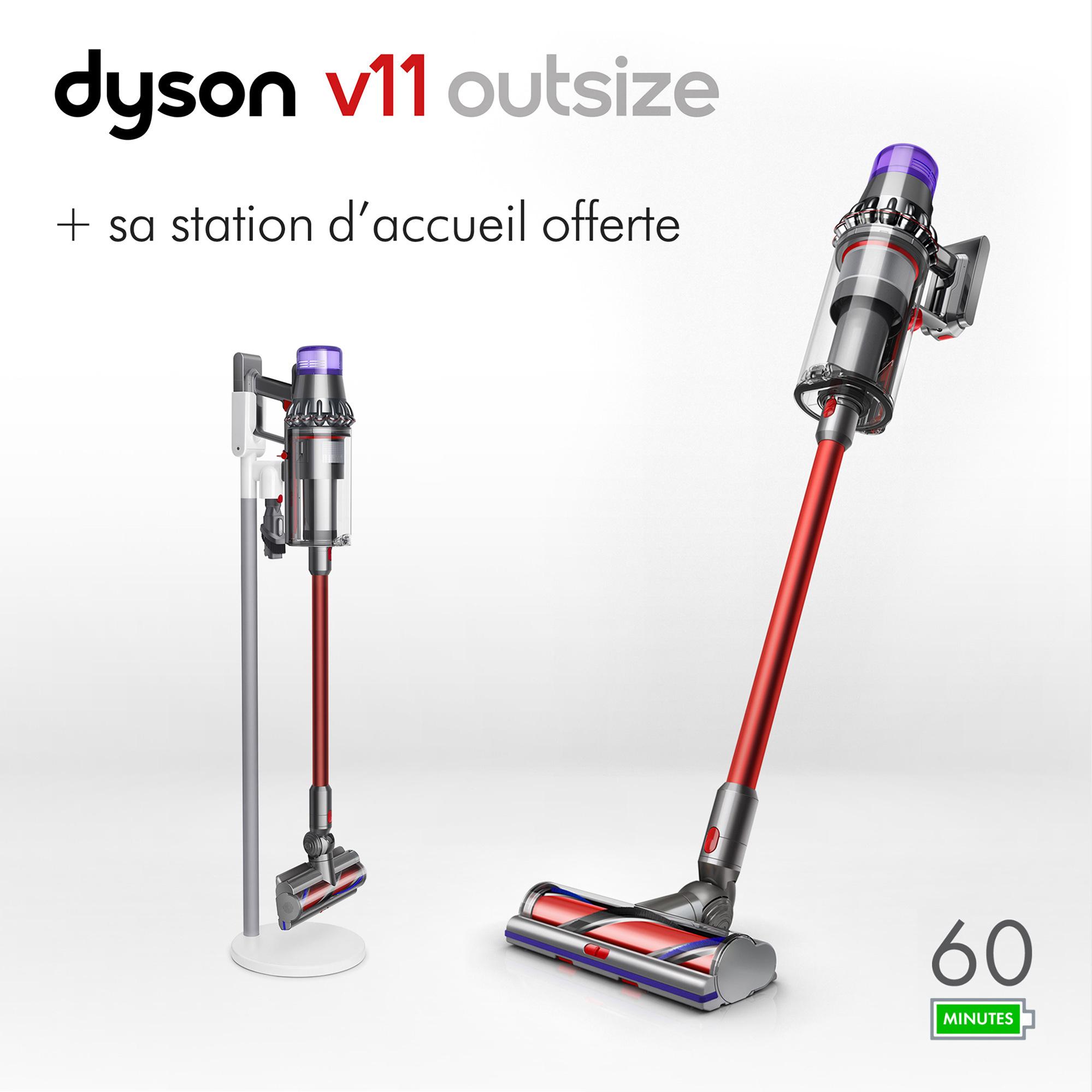 Sélection d'aspirateurs sans fil Dyson en promotion - Ex: Dyson V11 Outside + station d'accueil