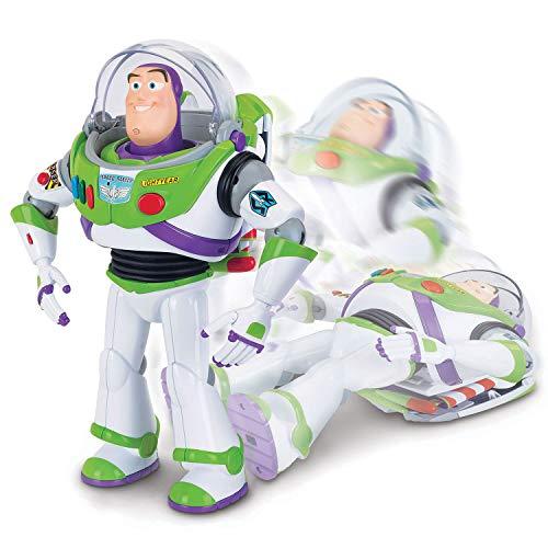 Figurine Lansay Toy Story 4 : Incroyable Buzz Renversant