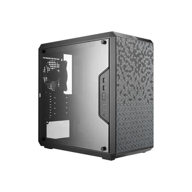 Boîtier PC MasterBox Q300L avec fenêtre (mATX)