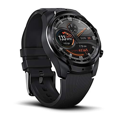 Montre connectée GPS Ticwatch Pro 4G/LTE - Noir (Vendeur tiers)