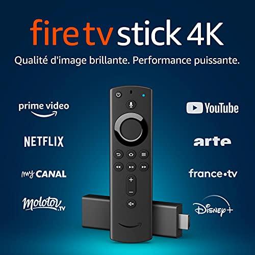 [Prime] Sélection de sticks de streaming Amazon Fire TV en promotion - Ex: Fire TV Stick 4K UHD