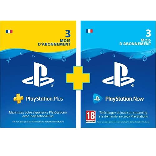 [Prime] Carte d'abonnement de 3 mois Playstation Plus + PlayStation Now (Dématérialisé)