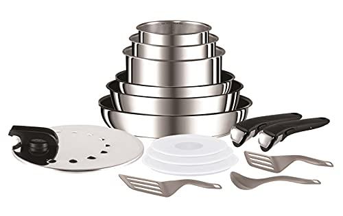 Batterie de cuisine Tefal Ingenio Preference - 15 pièces, tous feux dont induction