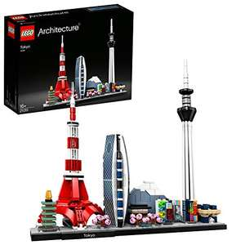 Jeu de construction Lego Architecture Modèle Tokyo n°21051
