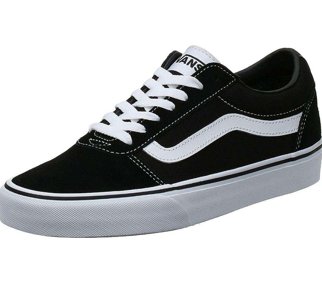 [Prime] Paire de chaussures Vans Ward Suede - Noir