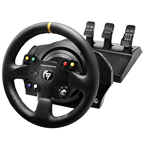 [Prime] Volant + Pédales Thrustmaster TX Racing Wheel Leather Edition sur Xbox One ou PC avec Pédalier T3PA