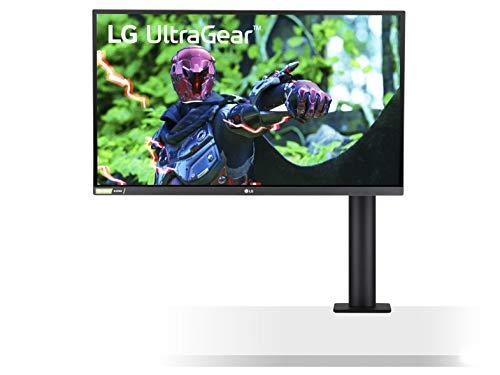 """[Prime] Ecran PC 27"""" LG UltraGear 27GN88A-B - QHD, Dalle IPS, 144 Hz, 1 ms, FreeSync (Compatible G-Sync), Bras ergonomique"""