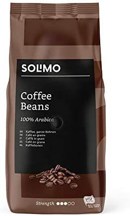 [Prime] Lot de 2 paquets de café en grains Solimo - 2 x 1 kg