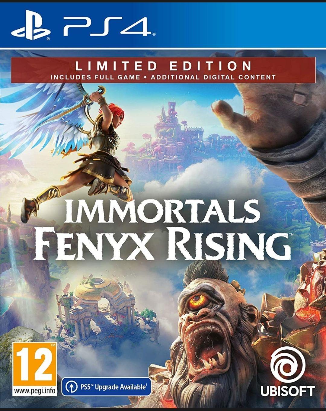 [Prime] Jeu Immortals Fenyx rising sur PS4 - Limited Edition (vestion PS5 inclus)