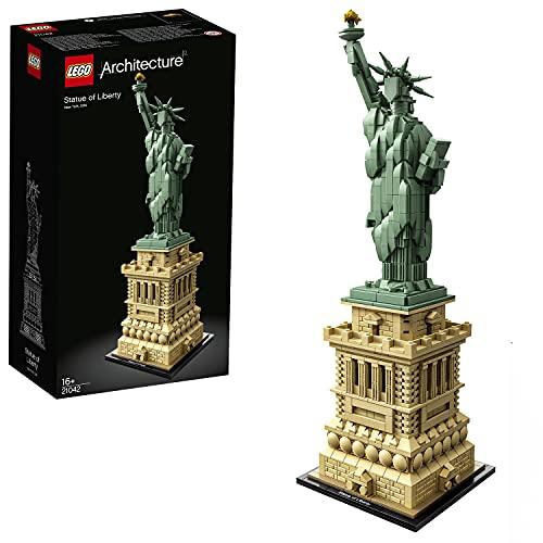 [Prime] Jeu de construction Lego Architecture La Statue de la Liberté n°21042