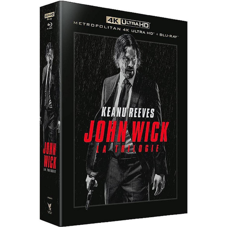 [Prime] Coffret John Wick La Trilogie en 4K Ultra HD + Blu-ray