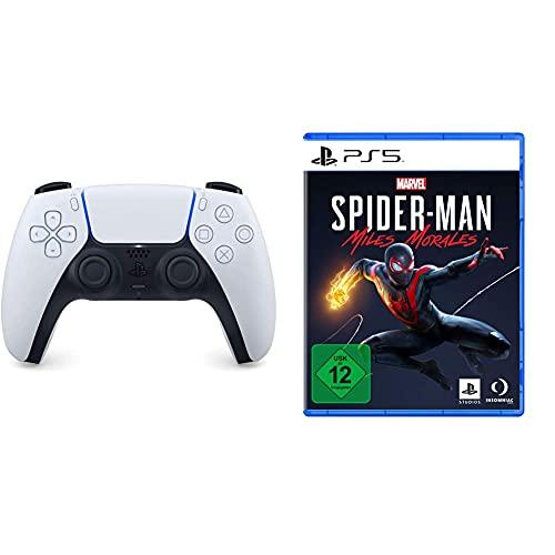 [Prime DE] Manette Sans-Fil Sony DualSense PS5 + Marvel's Spider-Man: Miles Morales sur PS5