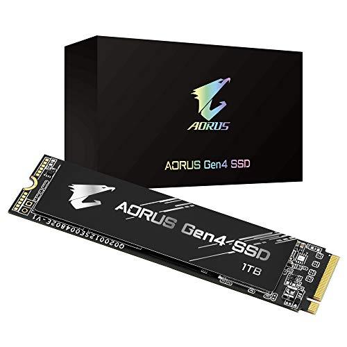 [Prime] SSD Interne M.2 NVMe Gigabyte Aorus GP-AG41TB - 1 To, PCIe 4.0, TLC, DRAM